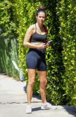Sara Sampaio Pictured leaving a grueling Pilates workout