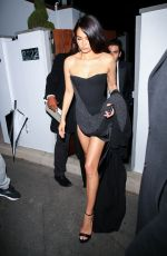 Sara Sampaio & Shanina Shaik look stunning as they leave an Oscars afterparty in Bel Air