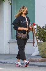 Sarah Michelle Geller Out in Brentwood