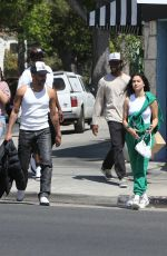 Shanina Shaik and new boyfriend Matthew Adesuyan hold hands after lunch date with friends in Los Feliz