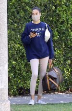 Shanina Shaik Arrives at a morning pilates class in West Hollywood