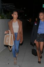 Skai Jackson & Lexi Underwood Look stunning as they step out for a girl