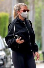 Sofia Richie At a Pilates class in West Hollywood