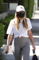 Sofia Richie Shows off her curves as she attends a Pilates class in Los Angeles