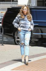 Sofia Vergara Arrives at a taping for America