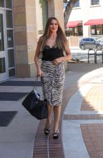 Sofia Vergara Arrives with smile at the AGT taping in Los Angeles