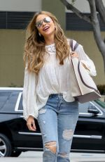 Sofia Vergara Arriving at a taping for AGT in Los Angeles