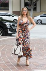Sofia Vergara Arriving at AGT taping in Los Angeles