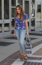 Sofia Vergara Showcases her curves ahead of AGT taping in Los Angeles