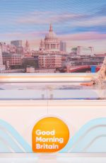 Susanna Reid At Good Morning Britain TV Show in London