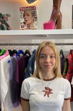 Sydney Sweeney At the launch of Marc Jacobs