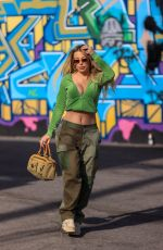 Tana Mongeau Out shopping on Melrose Avenue in West Hollywood
