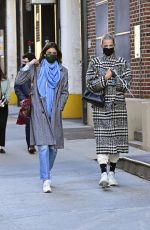 Taylor Hill Out in New York