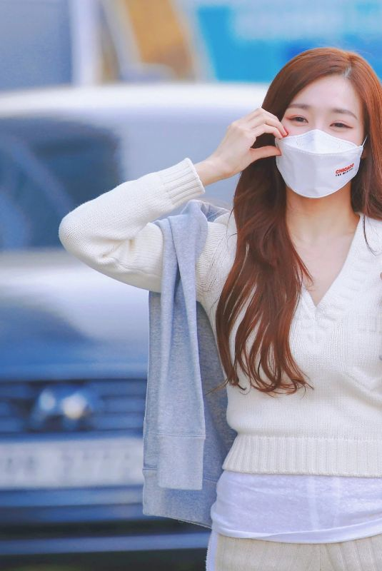 Tiffany Young Spotted at SBS Power FM Building After Work