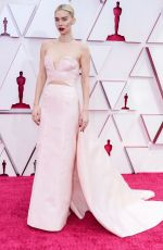 Vanessa Kirby Attending the 93rd Academy Awards in Los Angeles
