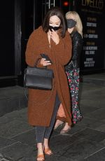 Vicky Pattison Leaving Livello Bar in Newcastle