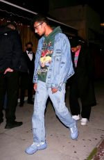 Willow Smith Keeps her head down and attempts to lay low while leaving an event with her boyfriend in West Hollywood