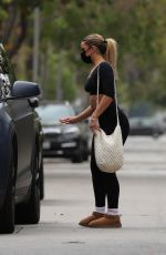 Addison Rae Finishes a morning Pilates session in West Hollywood