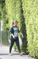 Addison Rae Heads to a morning Pilates session in West Hollywood