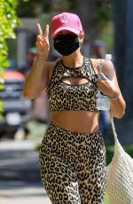 Addison Rae Spotted at a Pilates session in West Hollywood