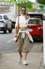 Alessandra Ambrosio Out for lunch at Bottega Louie in West Hollywood