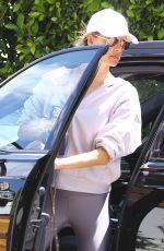 Alessandra Ambrosio Shows off her svelte figure as she arrives at a private gym in Los Angeles