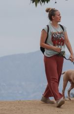 Alicia Silverstone Out with her dog in the Hollywood Hills