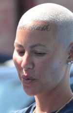 Amber Rose Out and about in Beverly Hills