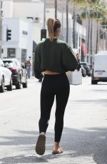 Amelia Hamlin Out shopping in Beverly Hills