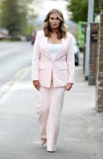 Amy Childs At The Only Way is Essex TV Show filming