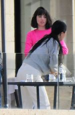 Ana De Armas Looked in good spirits as she enjoyed breakfast with friends and a mystery man at Palma De Mallorca