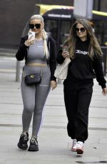 Apollonia Llewellyn Out shopping in Manchester City Centre
