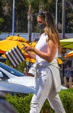 April Love Geary Keeps it casual as she goes shopping at Sephora while out running some errands in Malibu