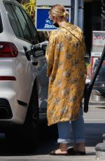 Ashlee Simpson At a local gas station in Los Angeles