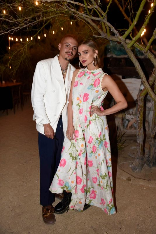 Ashlee Simpson & Evan Ross At Caliwater Escape at the Mojave Moon Ranch in Joshua Tree, California