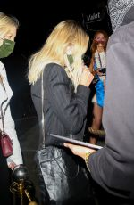 Ashley Benson Having dinner at Catch in West Hollywood