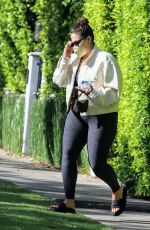 Ashley Graham Masks up as she leaves her pilates class in West Hollywood