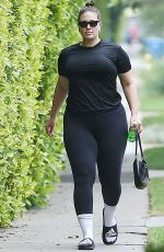 Ashley Graham Spotted while out and about in Los Angeles
