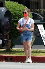 Ashley Tisdale Heads Out Decor Shopping in Los Angeles