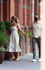 Blake Lively Out with her husband in Tribeca, New York