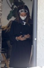 Brooke Burke Is spotted getting the star treatment during a hair appointment in Los Angeles