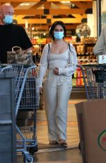 Camila Cabello and Shawn Mendes stock up during a grocery shopping excursion at Erewhon Market in West Hollywood