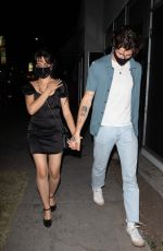 Camila Cabello & Shawn Mendes Out for Dinner in Los Angeles