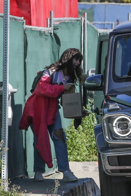 Camila Cabello Stops by the Verve Cafe in West Hollywood