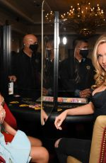 Camille Kostek At 2021 Sports Illustrated Swimsuit Charity Blackjack Tournament at the Hard Rock Hotel & Casino in Atlantic City