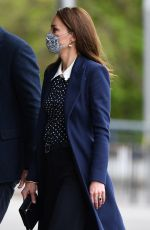 Catherine Duchess of Cambridge Visits The Way Youth Zone in Wolverhampton