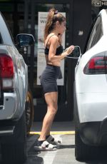 Chantel Jeffries Spotted out at a juice shop following a workout in West Hollywood