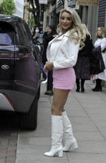 Chloe Crowhurst Seen at Boujee bar in Manchester City Centre