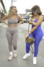 Chloe Ferry & Bethan Kershaw Arrive at Doll Beauty HQ in Chester