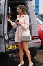 Chloe Ferry Pictured with her Mum Liz after a photoshoot in a Newcastle Studio